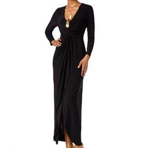 Thalia Sodi Jersey Knit Maxi Dress Cocktail